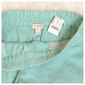 J CREW Factory Jacquard Floral Boardwalk Shorts